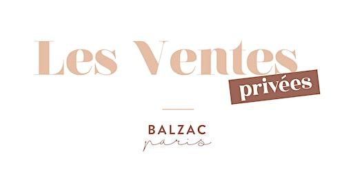 Ventes privées Balzac Paris