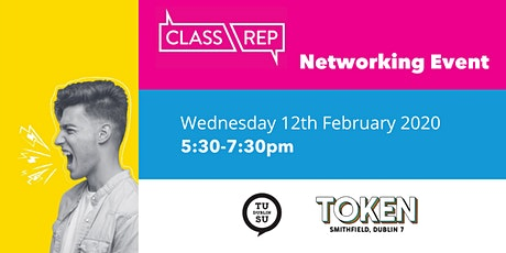 TU Dublin Students' Union City Campus Class Rep 2019/20  Networking Event tickets
