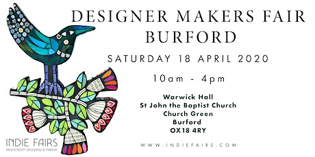 DESIGNER MAKERS FAIR BURFORD  - CANCELLED DUE TO COVID-19 tickets