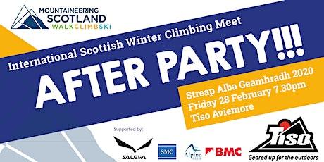 International Winter Climbing Meet After Party tickets
