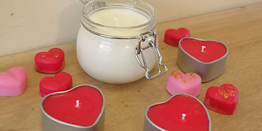 Valentines Candle Making