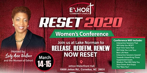 RESET 2020  WOMEN'S CONFERENCE OF EXHORT