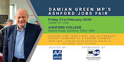 Damian Green MP's Ashford Jobs Fair