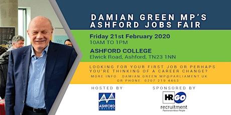 Damian Green MP's Ashford Jobs Fair tickets