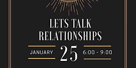 Let's Talk Relationships  tickets