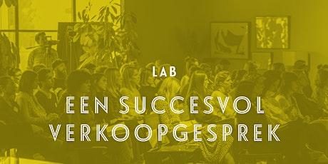 Lab: Een succesvol verkoopgesprek - Genk tickets