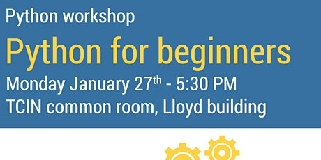 DUCSS and NeuroSoc present Python For Beginners tickets