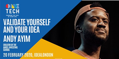 Validate Yourself and Your Idea tickets