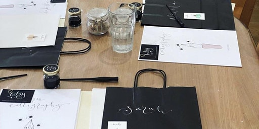 Calligraphy workshop with Betsy Design