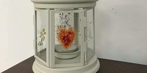 Glass fused lanterns