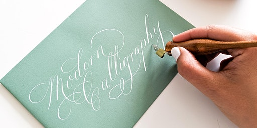 Modern Calligraphy Workshop & Cream Tea