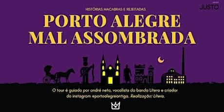 Porto Alegre Mal Assombrada - Temporada de verão ingressos