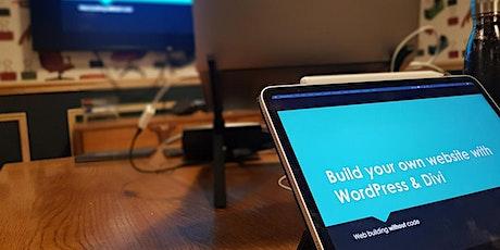 Build your own Divi WordPress website tickets