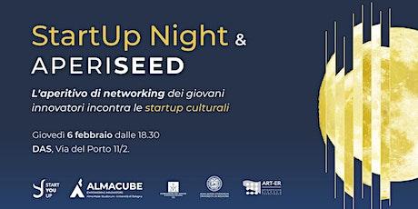 StartUp Night & AperiSeed • Giovedì 6 Febbraio @DAS biglietti