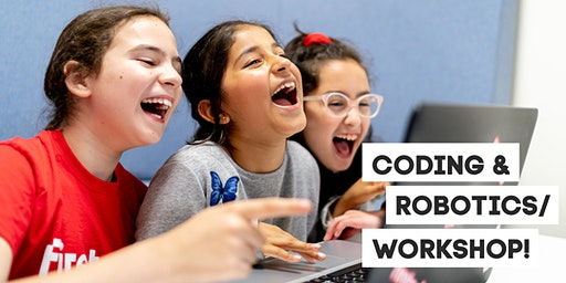 Coding & Robotics STEM education workshop for 9-12 year olds in Cambridge