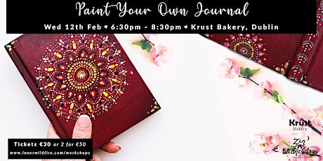 Paint Your Own Journal tickets
