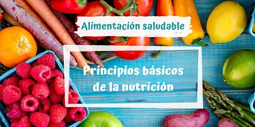 Alimentación Saludable: Principios básicos de la nutrición