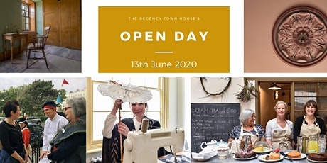 Open Day at the Regency Town House 2020 - June - Mini-tour tickets