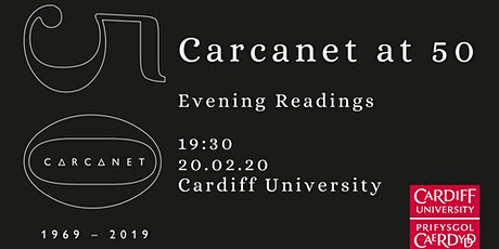 Carcanet at 50: Evening Readings tickets