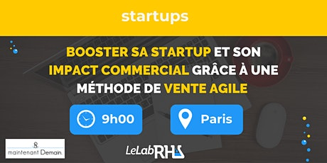 Formation : booster sa startup et son impact commercial tickets