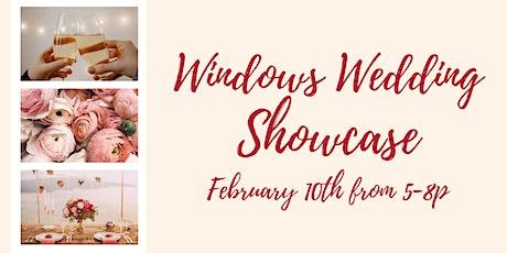 Windows Wedding Showcase tickets