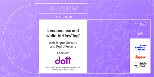 "TECH TUESDAY: Lessons learned while Airflow""ing"""