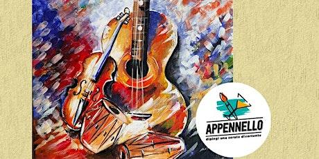 Roma Centocelle: Musica su tela, un aperitivo Appennello biglietti