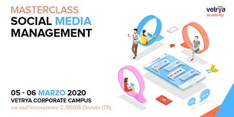 Masterclass Social Media Management biglietti