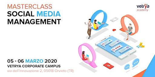 Masterclass Social Media Management