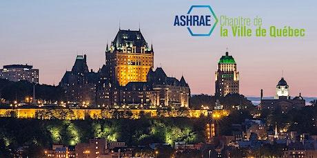 Souper-conférence ASHRAE Québec - La démarche de remise en service à travers une étude de cas sur des arénas billets
