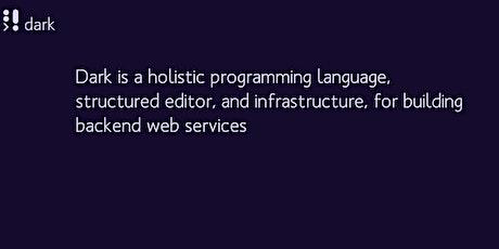 CLS: Dark - a holistic programming language biglietti
