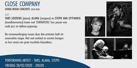 Close Company Living Room Concert - Tars Lootens, Alana, Steph tickets
