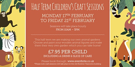 Half Term Children's Craft Sessions! tickets