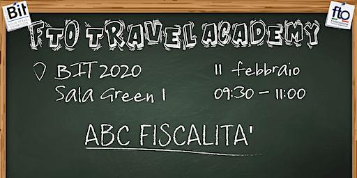 "FTO TRAVEL ACADEMY - ""ABC FISCALITÀ"""