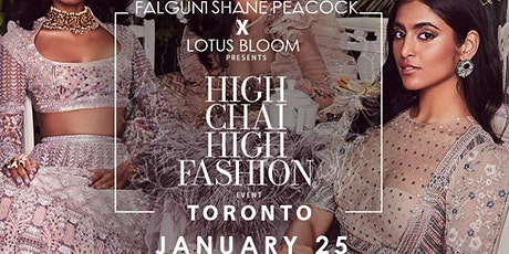 High Chai & High Fashion - Lotus Bloom x Falguni Shane Peacock Launch tickets