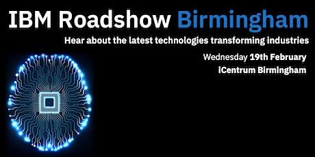IBM Roadshow Birmingham tickets