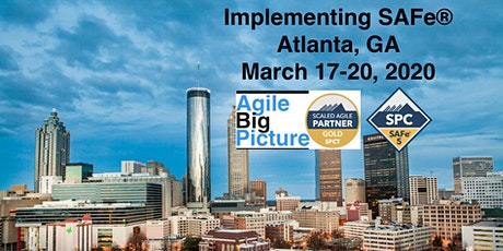 ATLANTA, GA - Implementing SAFe® 5.0 w/SPC Cert *GUARANTEED TO RUN* tickets