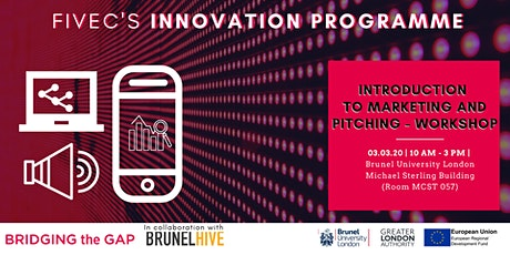 INTRODUCTION TO MARKETING AND PITCHING  (Workshop) tickets