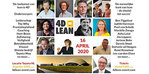 4D Lean event: de menselijke kant van lean, de sleutel tot succes