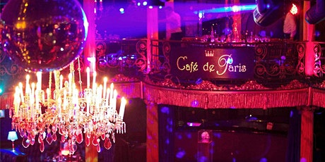Meetup Disco Cabaret Show @ Cafe De Paris (Free Drink/ Food) dj, Dancing tickets