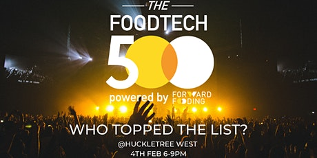 [Special event] Unveiling the FoodTech 500: The Future of Food Meetup Series  tickets