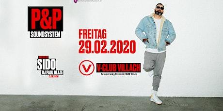 SIDO Live @ V-Club Villach biglietti