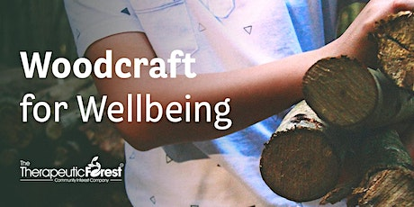 Woodcraft for Wellbeing tickets