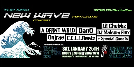 Big Fitz Ent. presents The New NEW WAVE Concert tickets