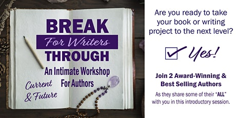 Breakthrough for Writers tickets