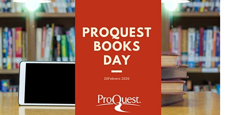 ProQuest Books Day Ramon Lull tickets