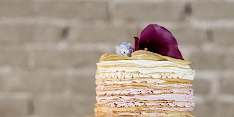 Valentines Day Crepe Cake Workshop tickets