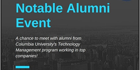 Notable Alumni Event tickets