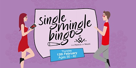 Single Mingle Bingo (Ages 30 - 40) tickets