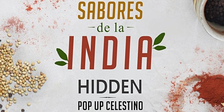 Sabores de la India | Hidden +35 | Restaurant a puertas cerradas entradas